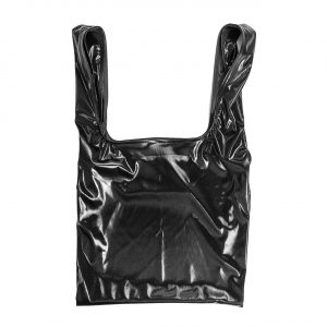 Glam rock shopper black-smoking