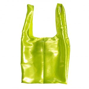 Glam rock shopper glossy-fluo-yellow