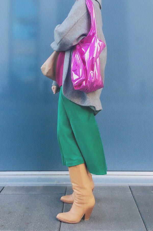 Glam rock shopper pink