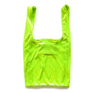 Glam rock shopper electric lime