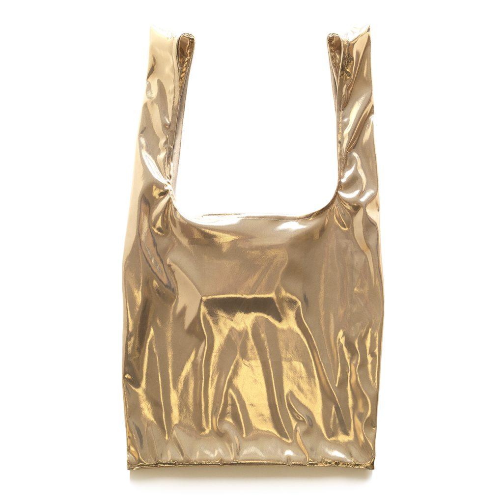 Glam rock shopper gold-beige