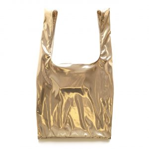 Glam rock shopper gold-beige