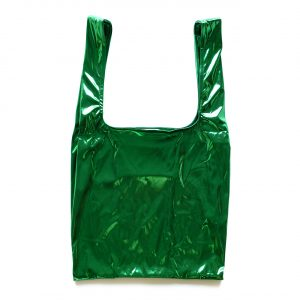 Glam rock shopper green